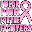 I Wear Pink for the Fighters T-Shirts