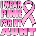 Aunt Pink Ribbon T-Shirts