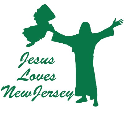 Jesus Loves New Jersey tee shirt from BurnTees