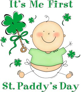 its me first st patricks day baby shirt