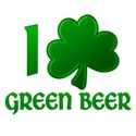 I Shamrock Green Beer