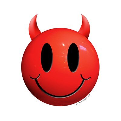smiley devil
