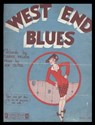 1928 ~ West End Blues Sheet Music Cover