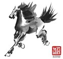 Horse Painting T-shirt & Gift