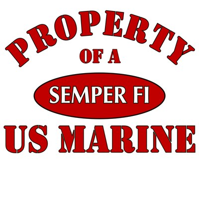 Property of a Semper Fi US Marine