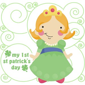 my first st patricks day girls shirt