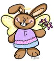 Easter Angel Bunny