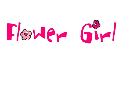 Flower Girl T-shirts, Tees, Onesies