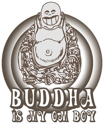 Retro Buddha Is My Homeboy