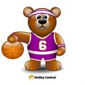 Happy Father's Day Basketball Teddy