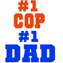 Firefighter Dad and Police Dad!