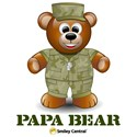 Military Dad Father's Day Teddy Bear