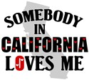 Somebody In California T-shirts