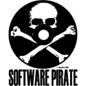 Show the world that you're a pirate. Meet other fellow pirates and trade your booty.  The skull and crossbones on a cd is the perfect image for the software pirate in you.