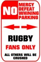 NO PARKING Rugby