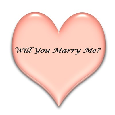 Will You Marry Me Heart