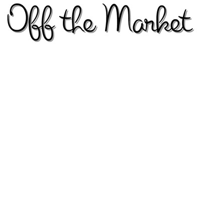 Off the Market Engagement T-Shirts: Black