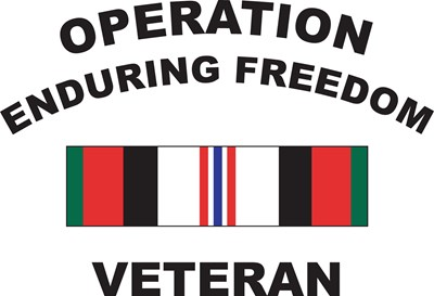 Operation Enduring Freedom Veteran