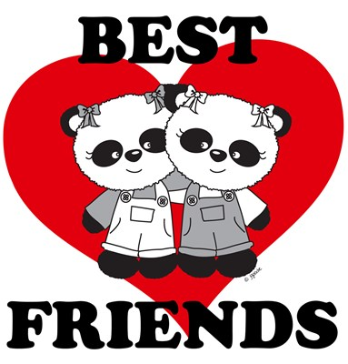 Best Friend Panda Bears