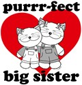 Purrr-fect Big Sister Kitty Cats
