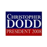 Dodd: President 2008 Fridge Magnet