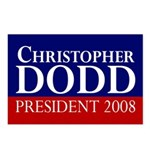 Dodd for President 2008 (8 Postcards)