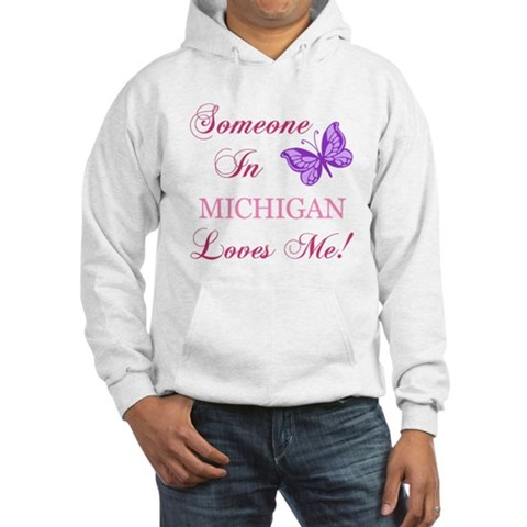 Product Image of Michigan State (Butterfly) Hooded Sweatshirt