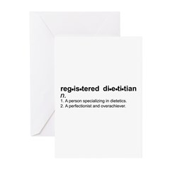 Registered Dietitian Greeting Cards (Pk of 10)