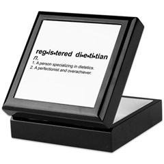Registered Dietitian Tile Box