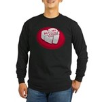 'All My Love' Broken Heart long sleeve dark t-shirt