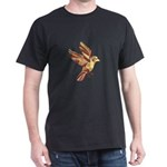 Sparrow Flying Low Polygon T-Shirt