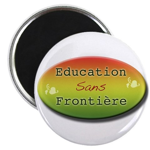 Africa 2.25 Magnet 100 pack by CafePress