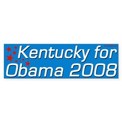 Kentucky for Obama Bumper Sticker