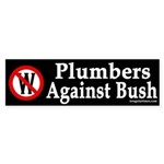 Plumbers Against Bush (bumper sticker)