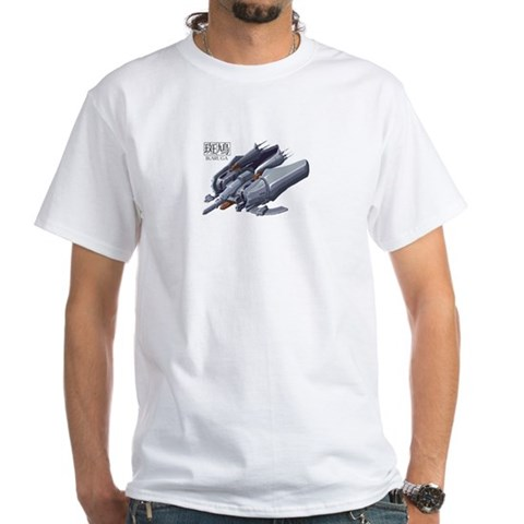 Ikaruga Yeah White T-Shirt by CafePress