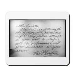 The Phantom of the Opera 1925 Mousepad