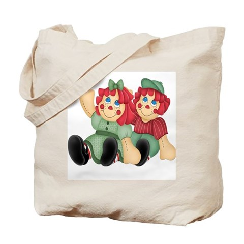 Raggedy Ann Andy Doll's Cute Tote Bag by CafePress