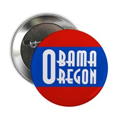Barack Obama for Oregon Button