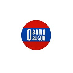 Oregon for Barack Obama Campaign Pin