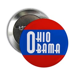 Ohio Barack Obama Buttons (10 pack)