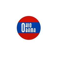 Ohio for Obama Mini Button for 2008