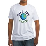 Save the Earth: Vote Democratic (Fitted T)