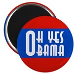 Oh Yes Obama Magnet