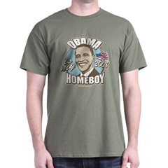 Obama Homeboy Special Edition Dark T-Shirt