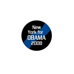 10 New York for Obama campaign pins