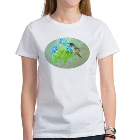 Hummingbird Hummingbird Women's T-Shirt by CafePress