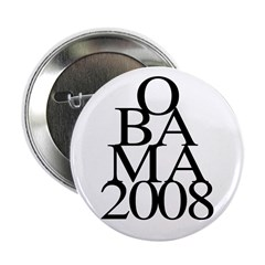 Layers: Obama 2008 2.25 Button (100 pack)