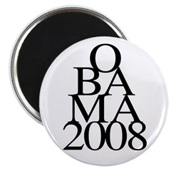 Layers: Obama 2008 2.25 Magnet (10 pack)