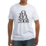 Layers: Obama 2008 Fitted T-Shirt