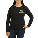 Fire Battalion Chief Women's Long Sleeve Dark T-Sh